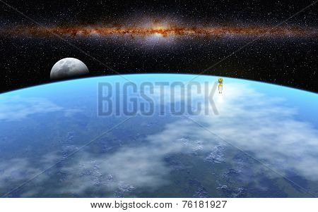 Departure To Moon