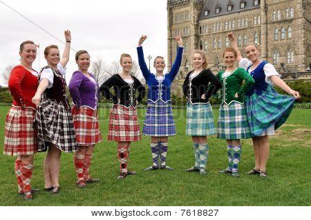 Tartan Day in Ottawa 2010