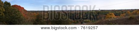 Massachusetts Fall Panorama