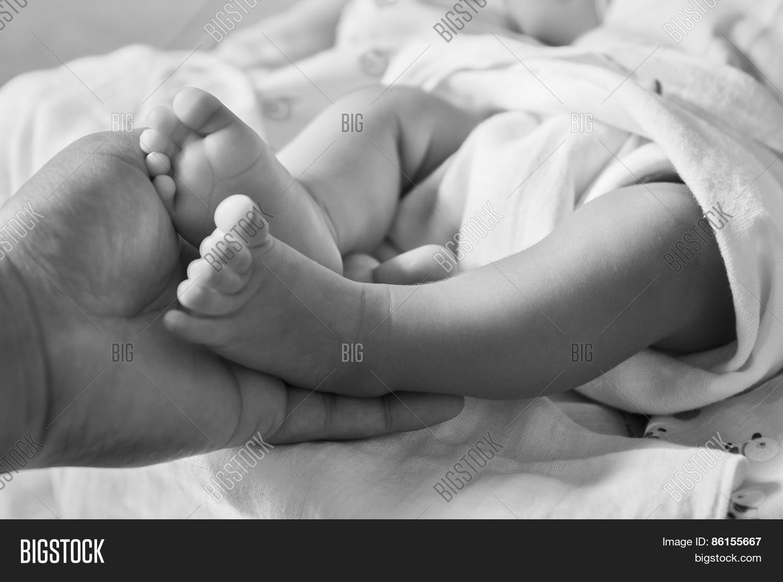 Baby Feet Image Photo Free Trial Bigstock