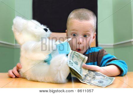 Amazed At Money Gift