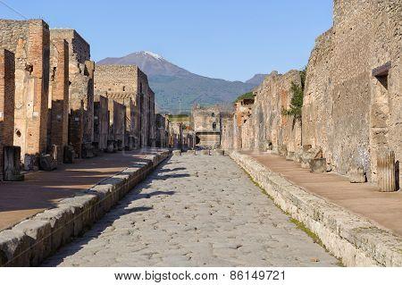 Street Of Pompeii