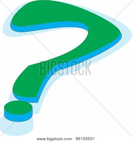 illustration of a question mark