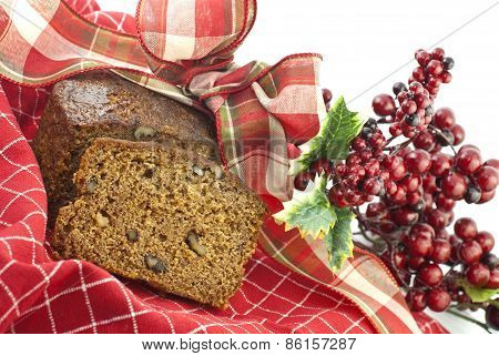 Christmas Banana Nut Bread