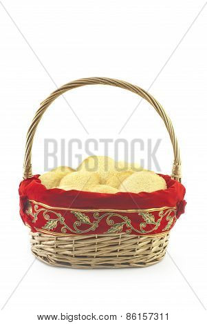 Basket Full Of Holiday Cookies