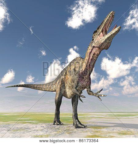 Dinosaur Acrocanthosaurus