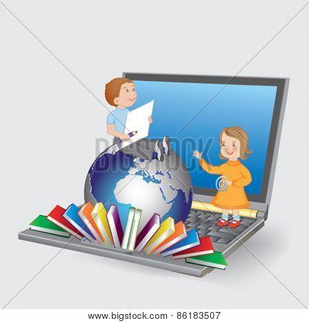 Stock Vector Illustration: