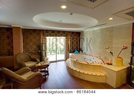 Spa interior. SIDE, TURKEY