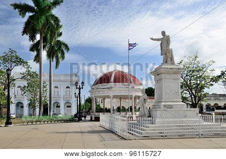 Statue Of Jose Marti In Cienfuegos, Cuba