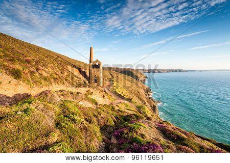 Cornish Mining Ruins