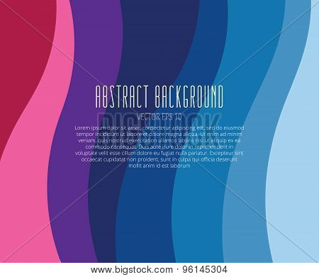 Abstract background vector wallpaper. Colore strips, tiles and laser lines. Stock vectors illustrati