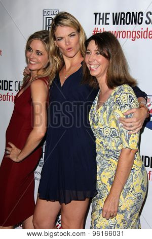LOS ANGELES - JUL 14:  Christina Moore, Missi Pyle, Brooke Dillman at the