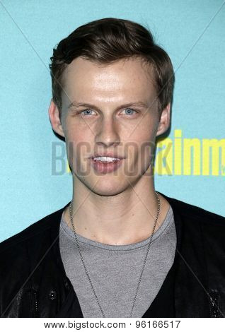 SAN DIEGO - JUL 11:  Connor Weil at the Entertainment Weekly's Annual Comic-Con Party at the FLOAT at The Hard Rock Hotel  on July 11, 2015 in San Diego, CA