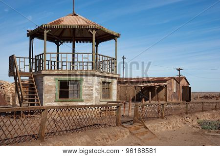 Bandstand at Humberstone Saltpeter Works