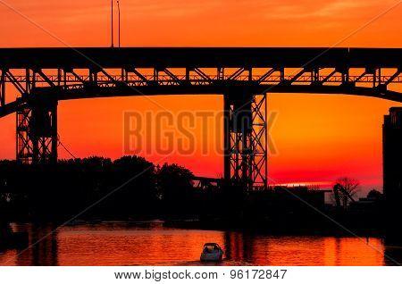 Bridge Over Sunset