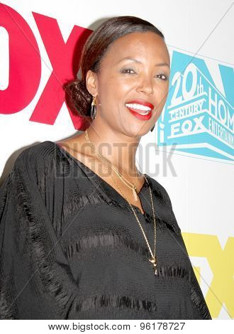 SAN DIEGO, CA - JULY 10: Aisha Tyler arrives at the 20th Century Fox/FX Comic Con party at the Andez hotel on July 10, 2015 in San Diego, CA.