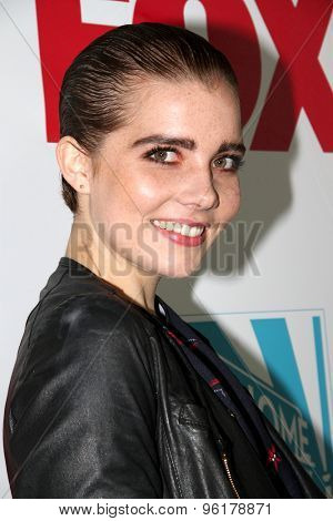 SAN DIEGO, CA - JULY 10: Elise Eberle arrives at the 20th Century Fox/FX Comic Con party at the Andez hotel on July 10, 2015 in San Diego, CA.