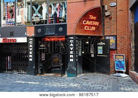 The Cavern Club, Liverpool.