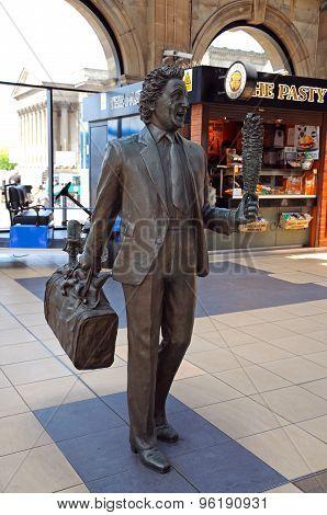 Ken Dod Statue, Liverpool.