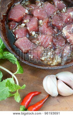 Vietnamese Food, Bo Luc Lac, Beef
