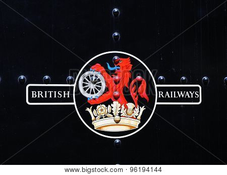 Late British Rail Crest.