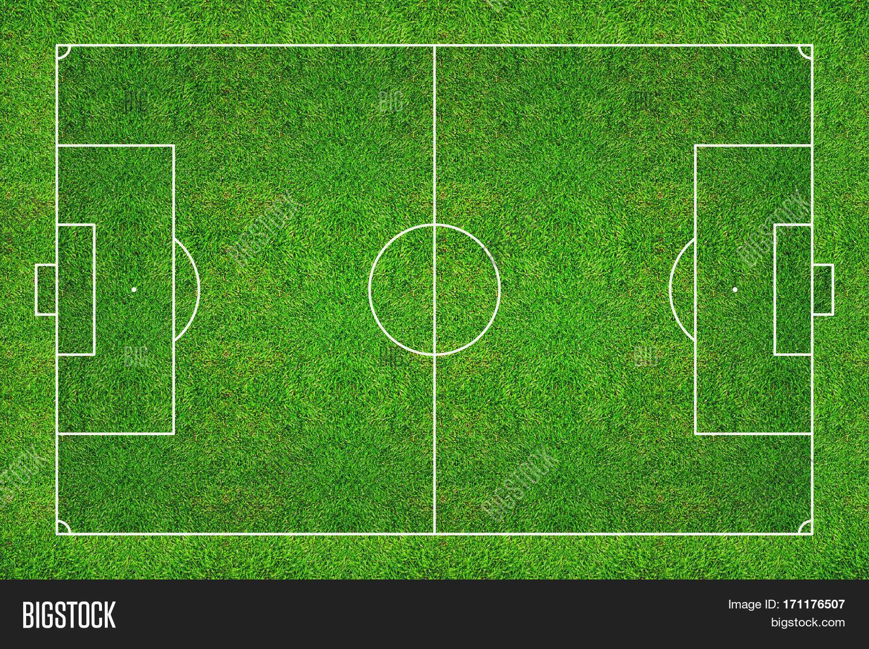 Football Field Soccer Image Photo Free Trial Bigstock