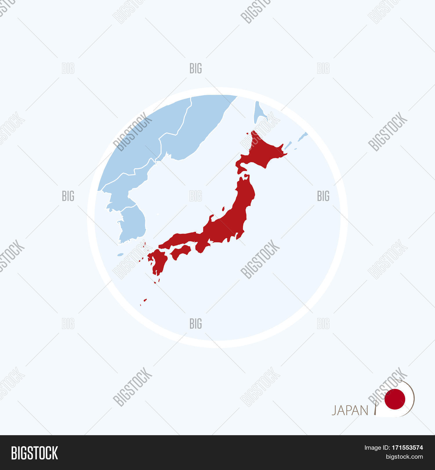 Map icon japan blue vector photo free trial bigstock map icon of japan blue map of east asia with highlighted japan in red color gumiabroncs Gallery
