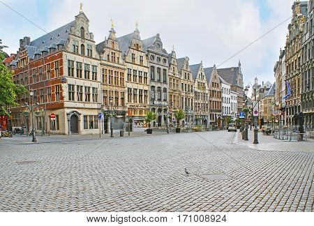 The Walk In Old Antwerp