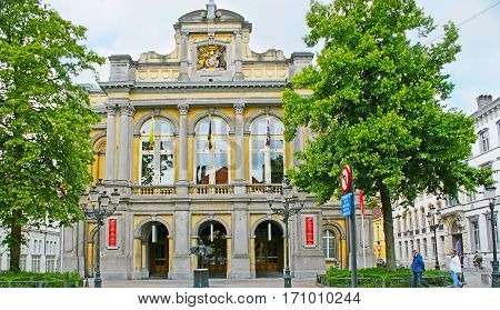 The City Theatre Of Bruges