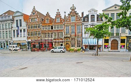 The Vrijdagmarkt Square