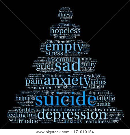 Suicide Word Cloud