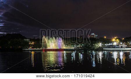 Musical Ligth Fountain Guayaquil Ecuador