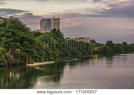 Estero Salado River Guayaquil Ecuador