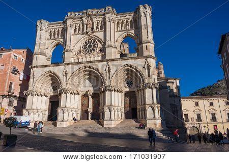 Cathedral Of Cuenca, Castilla La Mancha, Spain.