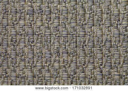 Olive knitted woolen background with a pattern of soft fleecy cloth. Texture of textile closeup.