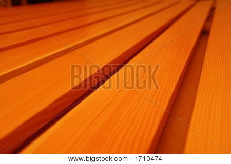 Wood Plank In A Wooden Ware House For Woodworkers And Architectural Millwork