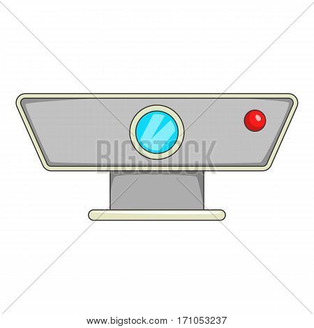 Multimedia projector icon. Cartoon illustration of multimedia projector vector icon for web