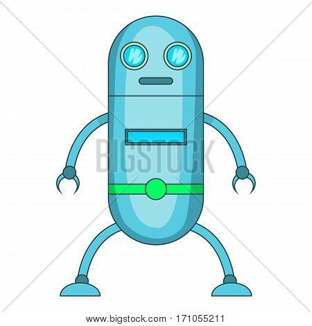 Fiction robot icon. Cartoon illustration of Fiction robot vector icon for web