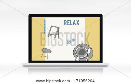Lifestyle Cafe Relax Leisure Break
