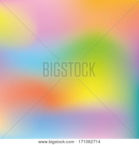 Abstract Background gradient with many bright colors