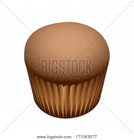 Isolated Small Cake