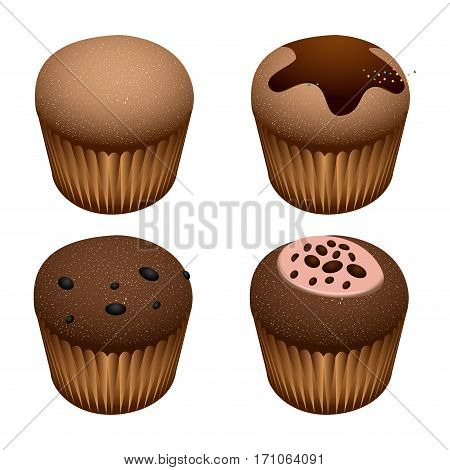 Set Of Small Cakes