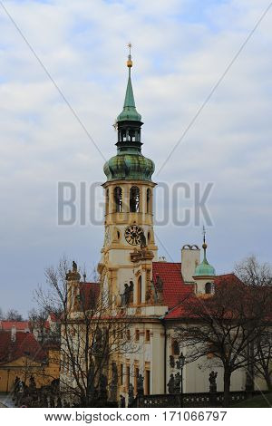 Loreta Monastery  In Hradcany District. Prague, Czech Republic