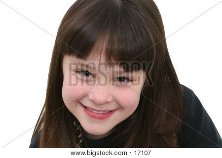 Beautiful Seven Year Old Girl