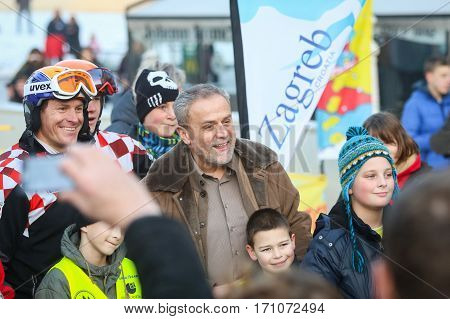 Milan Bandic At Fis World Snow Day