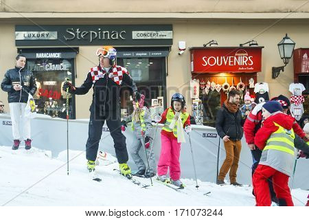 Ivica Kostelic At World Snow Day