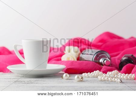 Woman Morning Time Breakfast While Ready To Dating