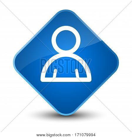 Member Icon Special Blue Diamond Button