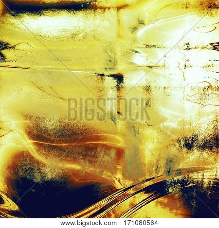 Retro vintage style background or faded texture with different color patterns: yellow (beige); brown; blue; red (orange); white