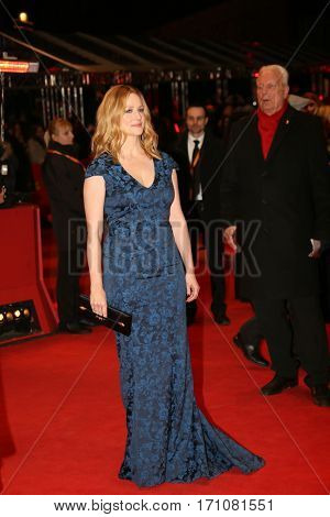 Laura Linney attends the 'The Dinner' premiere during the 67th Berlinale International Film Festival Berlin at Berlinale Palace on February 10, 2017 in Berlin, Germany.